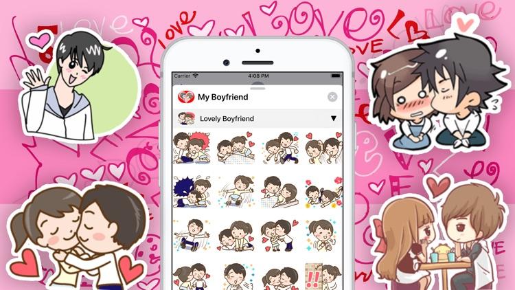 My Boyfriend Stickers