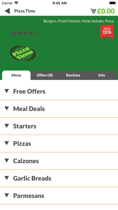 Pizza Time YO30 screenshot two