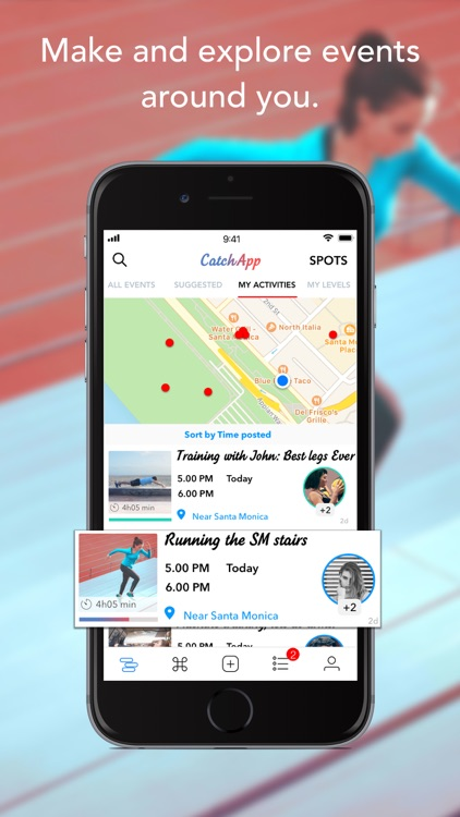 CatchApp - Meet for Sports
