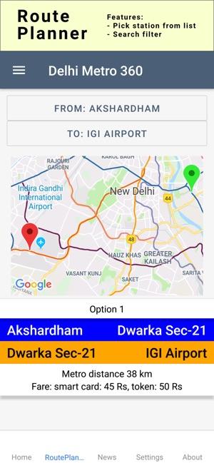 Delhi Metro 360 on the App Store