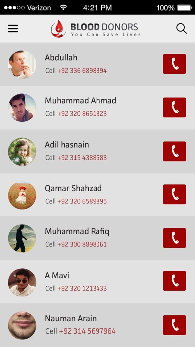 点击获取Blood Donors Pakistan