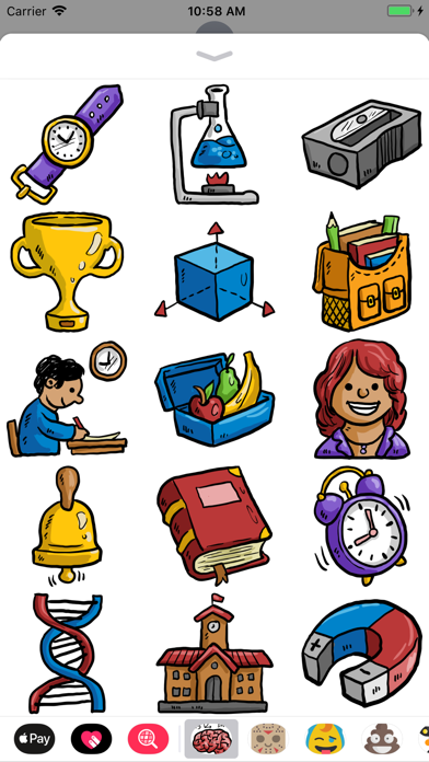 Back 2 School Stickers screenshot two