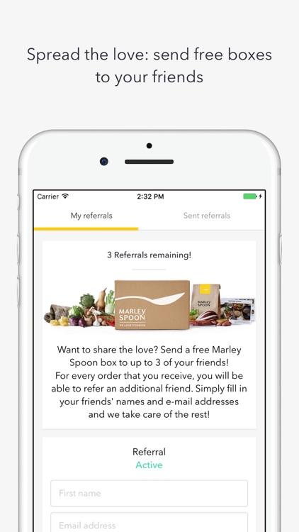 Marley Spoon - We Love Cooking screenshot-4