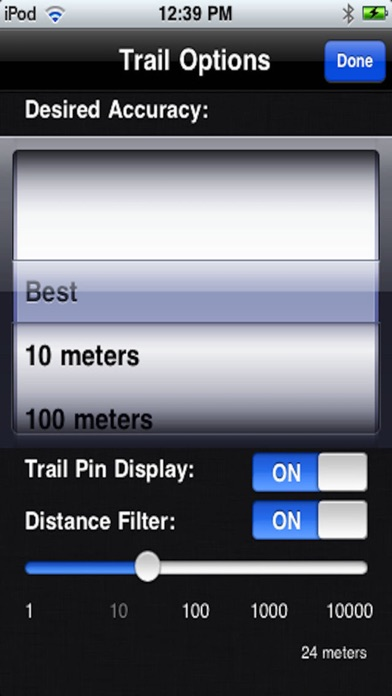 goTrailPro Screenshots
