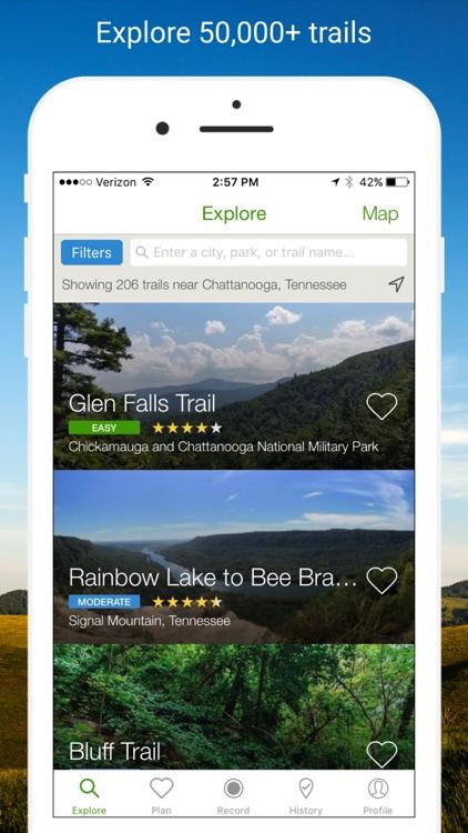 AllTrails - Hiking & Running screenshot-0