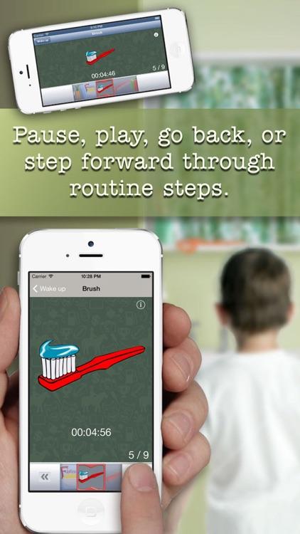 My Routine Schedule - A Child's Visual Task Timer screenshot-3