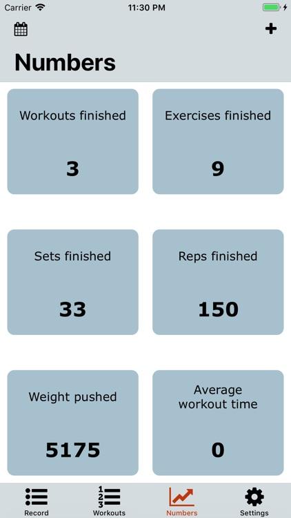 Workout Note screenshot-4