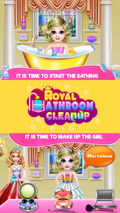 Royal Bathroom Cleanup Screenshot