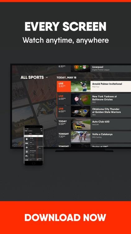fuboTV: Watch Live Sports screenshot-4