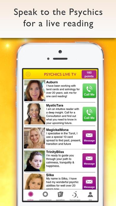Psychics Live Horoscopes Tarot app image
