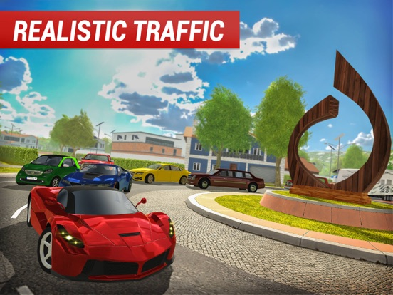 Roundabout 2: City Driving Sim на iPad