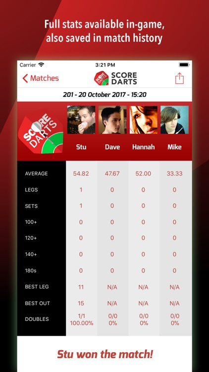Score Darts Scorer Lite screenshot-3