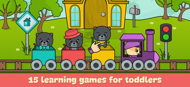 Ipad Games For Toddlers >> Baby Games For 3 Year Old Kids On The App Store