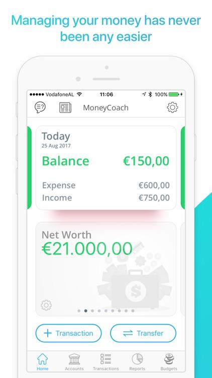 MoneyCoach screenshot-0