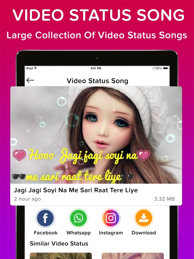 Video Status Song For Whatsapp on the App Store