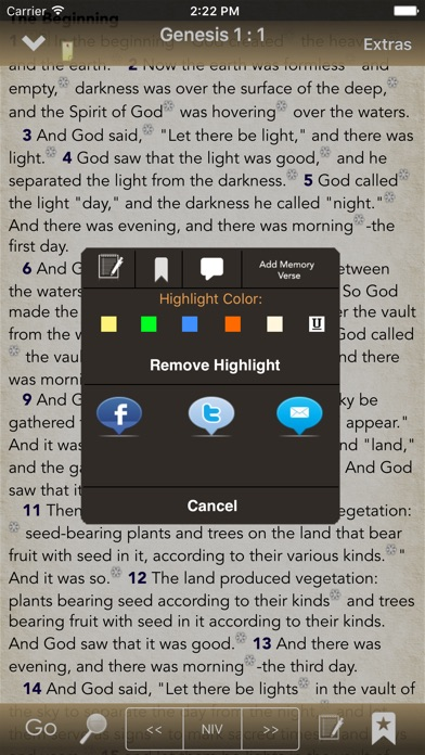 BibleScope screenshot two