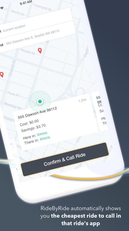 RideByRide: a passenger app