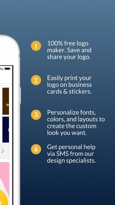 Business card maker logo app revenue download estimates app iphone ipad reheart Images