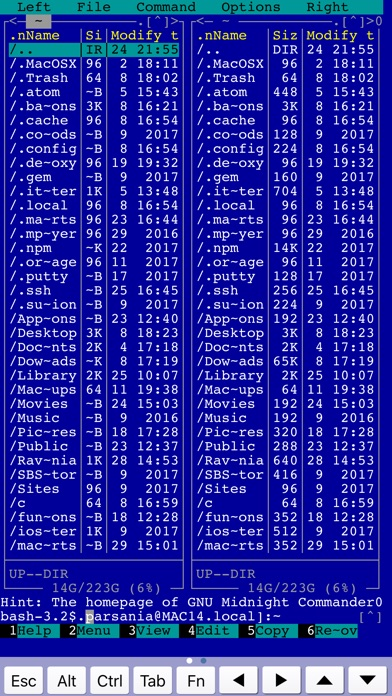 SSH Term Pro Screenshot on iOS