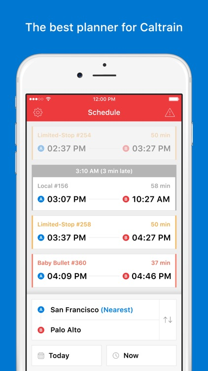 Caltrain - Real-time Schedule