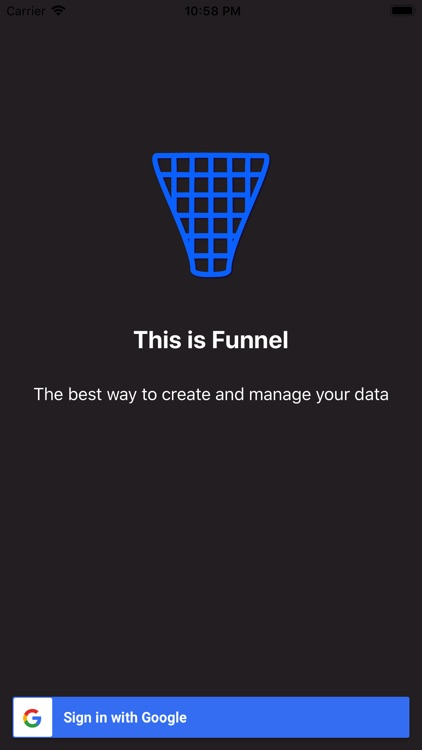 Funnel - Your Data