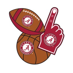 Alabama Crimson Tide Photo Selfie Stickers