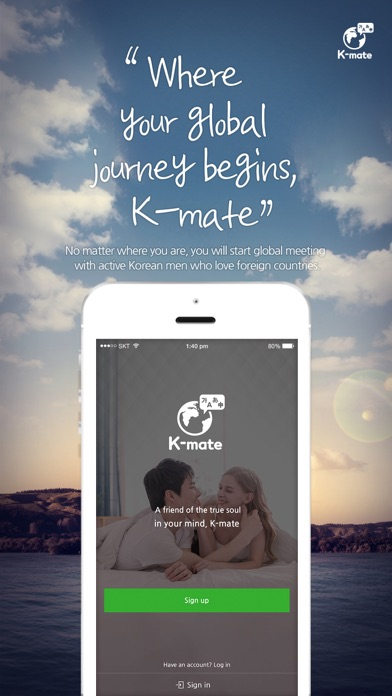 Kmate - Chat with global screenshot one