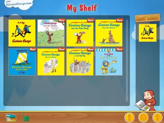 Curious George: Book Readerのおすすめ画像2