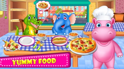 Little HIPPO - Cooking Chef screenshot 1