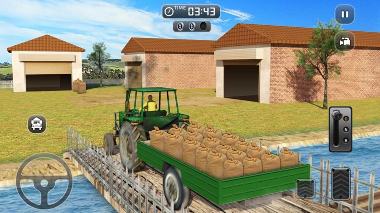 Real Farming Simulator: Farm Truck Driving School screenshot-3