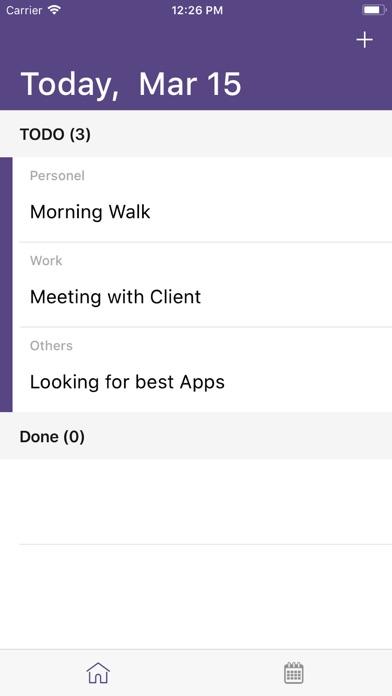 ToDo task-list manager tool screenshot 1