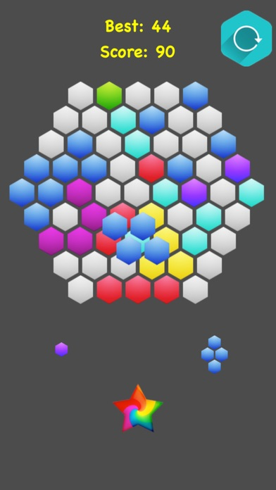 !Hexagonal Merge - Premium screenshot 4