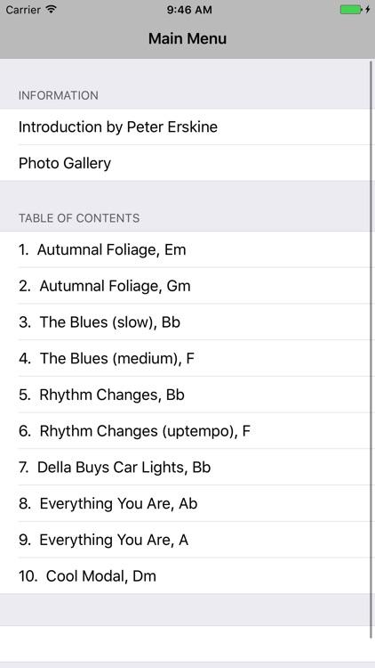 Erskine Jazz Essentials Vol. 1