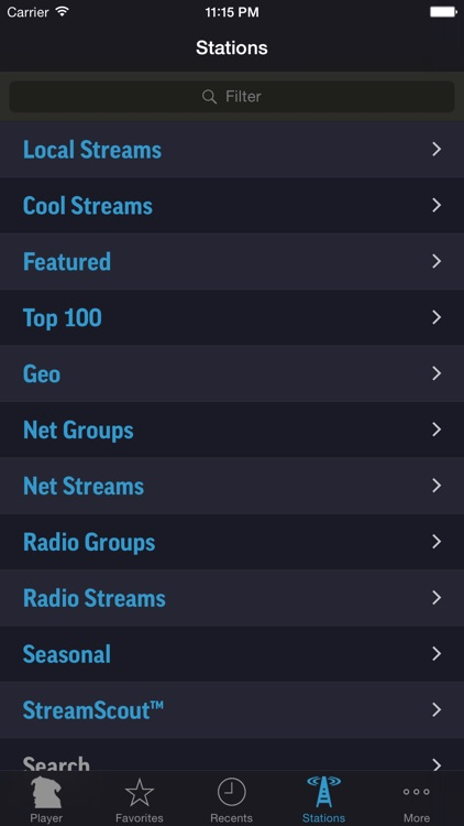 StreamS HiFi Radio screenshot-3