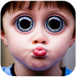 Bump Distortion: Make funny distortions on your photos