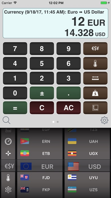 Measures - Unit Converter screenshot one