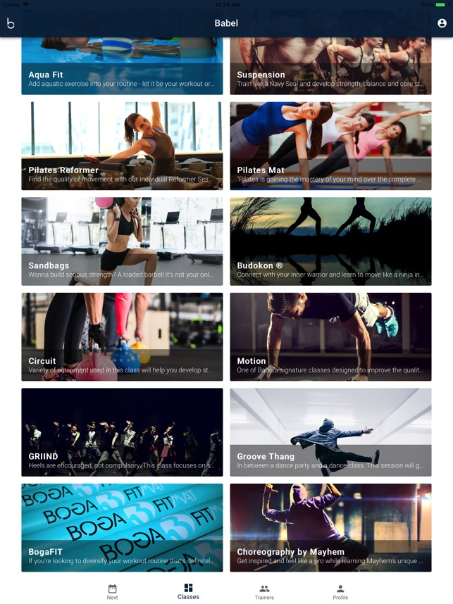 Babel Fit on the App Store