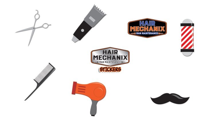 Hair Mechanix Stickers