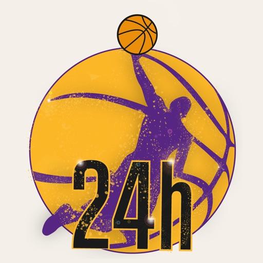 Los Angeles Basket 24h iOS App