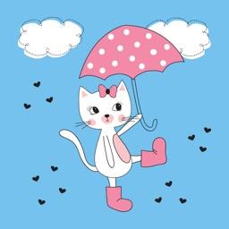 Pinkish Cat