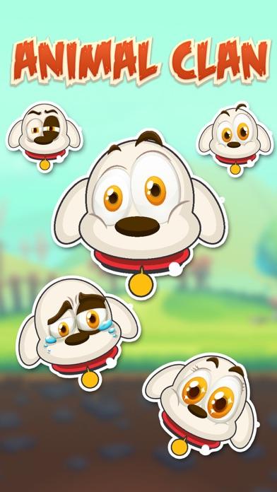 Animal Clan Dog Stickers screenshot one