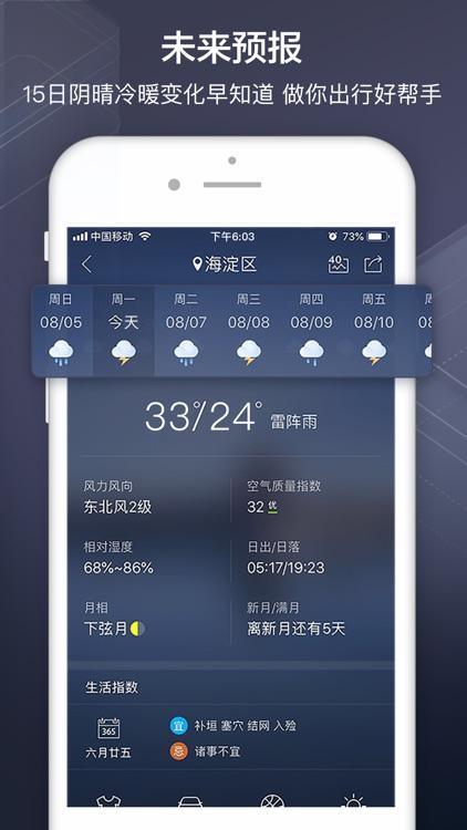 天气通Pro - 关注天气,开启美好生活 screenshot-3
