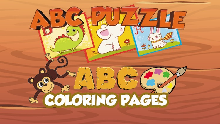 ABC Jigsaw Puzzle and Coloring