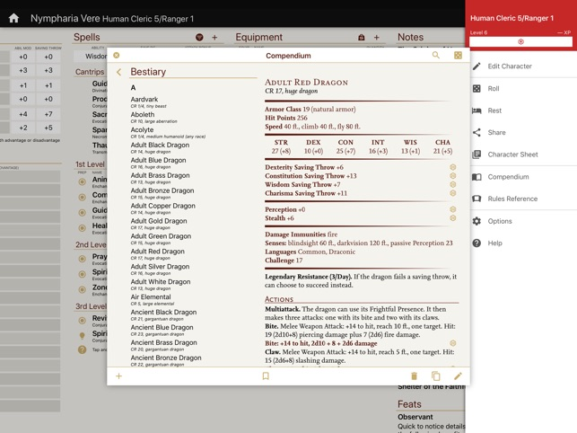 Fifth edition character sheet app custom data blood hunter