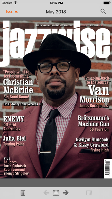 Jazzwise review screenshots
