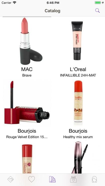 Facechart. Makeup & Looks screenshot-4