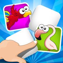 ABC 记忆游戏 儿童 - 了解 与鸟兽