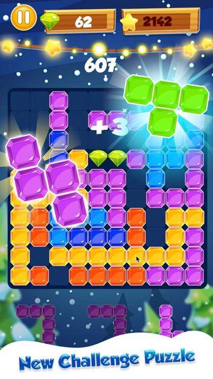 Jewel Cube: Block Puzzle Game