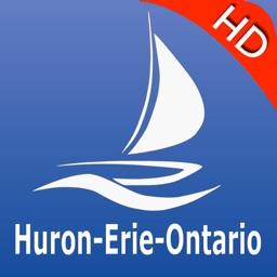 Huron Erie Ontario Charts Pro