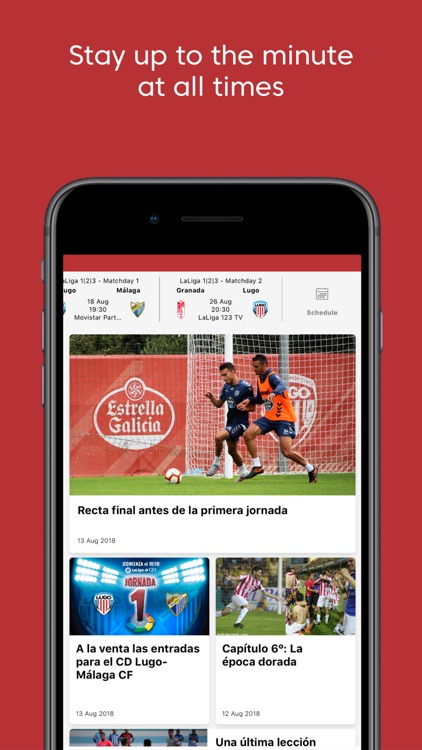 CD Lugo - Official App screenshot-4